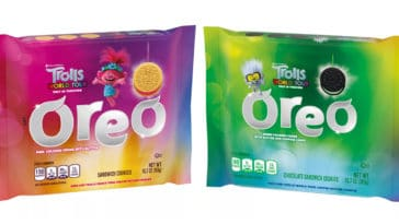 These Trolls World Tour Oreo cookies are stuffed with glittery crème fillings 13