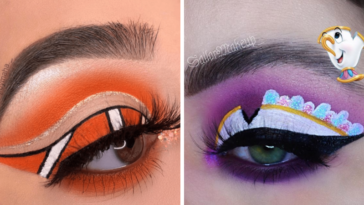 Incredible Disney-inspired eye and lip makeup 14