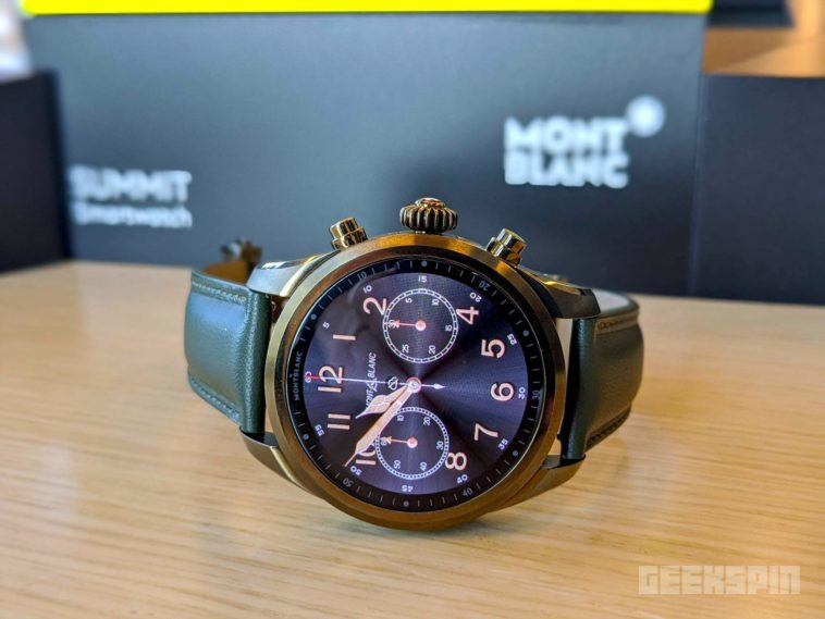 Montblanc's Summit 2+ is the first Wear OS smartwatch with LTE 12