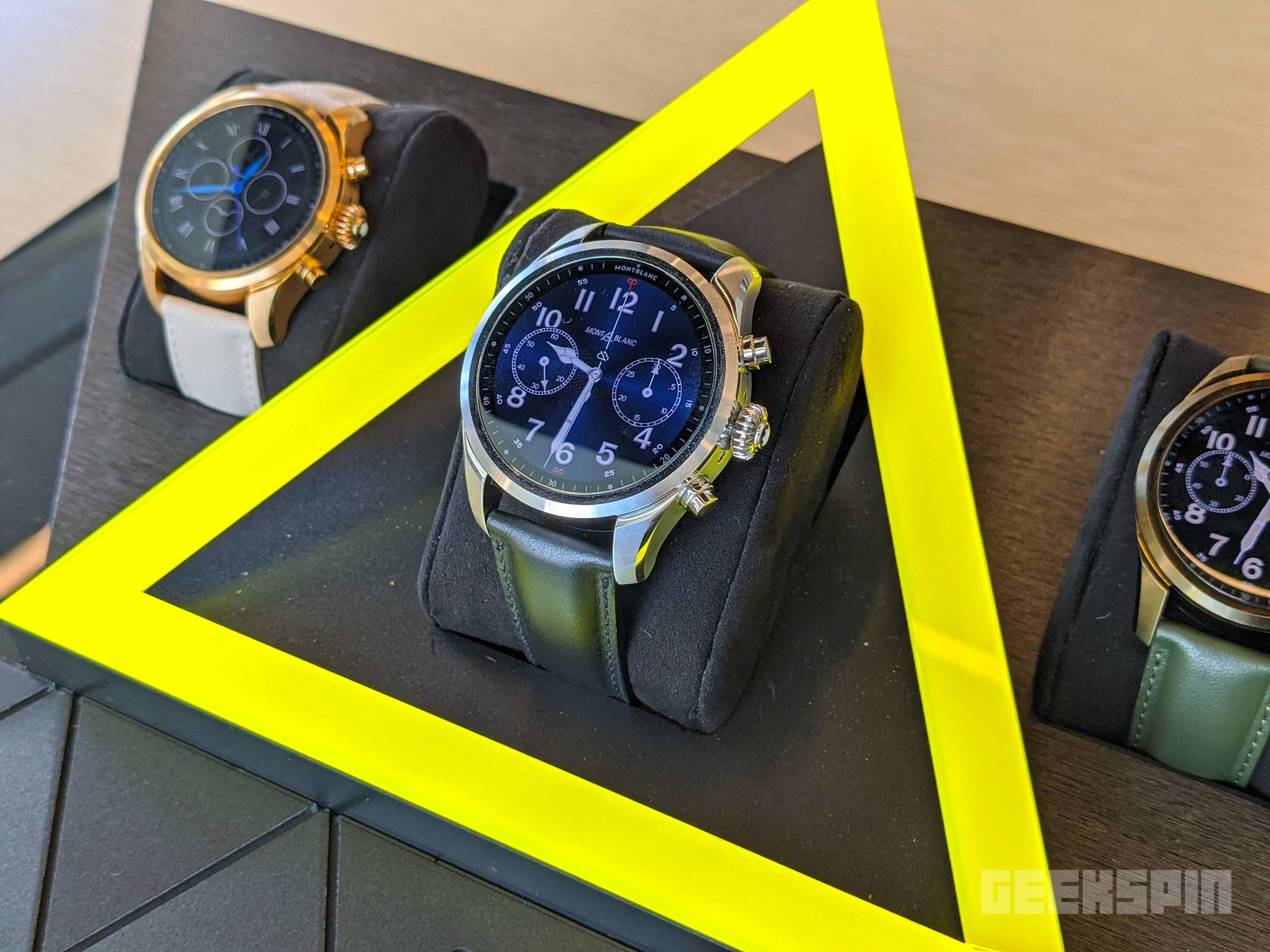 Montblanc's Summit 2+ is the first Wear OS smartwatch with LTE 13