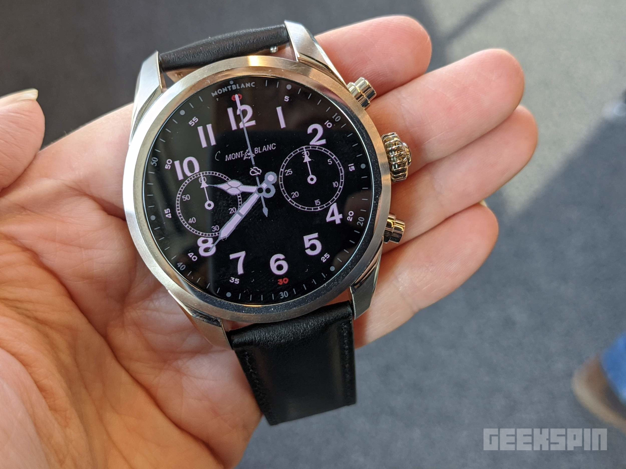 Montblanc's Summit 2+ is the first Wear OS smartwatch with LTE 14