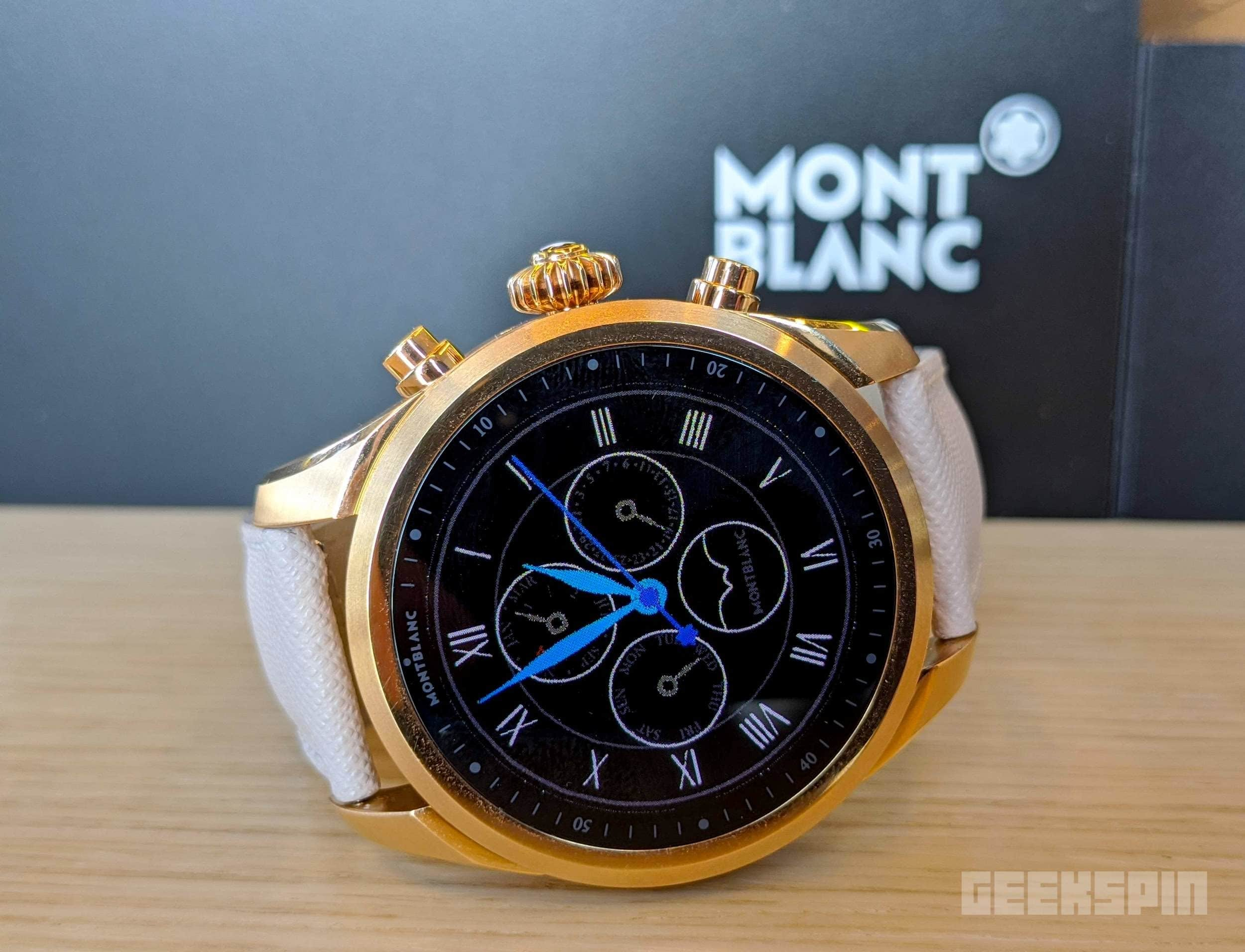 Montblanc's Summit 2+ is the first Wear OS smartwatch with LTE 15