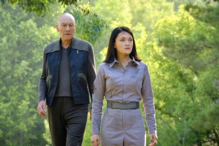 Picard reunites with Riker and Troi in Star Trek: Picard episode 7 photos 15