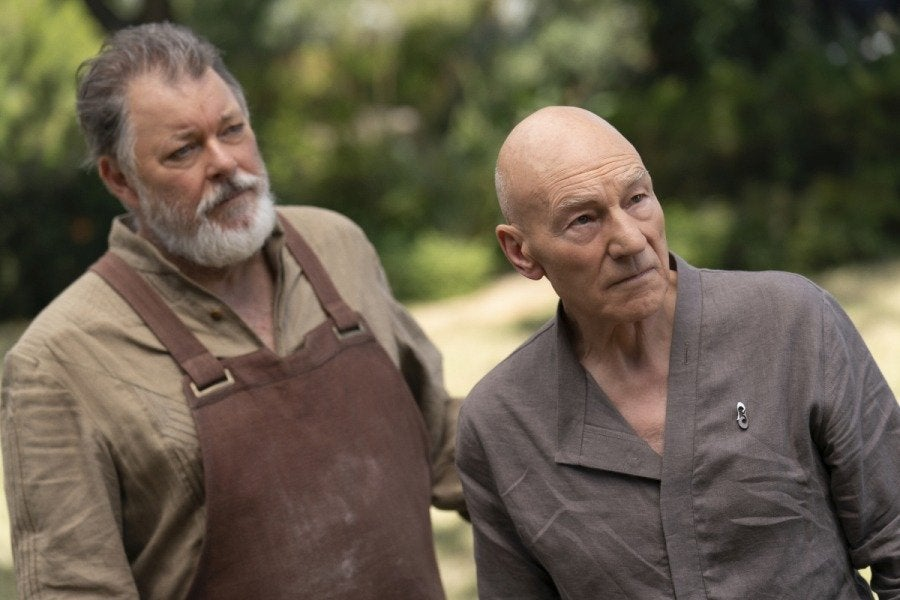 Picard reunites with Riker and Troi in Star Trek: Picard episode 7 photos 17