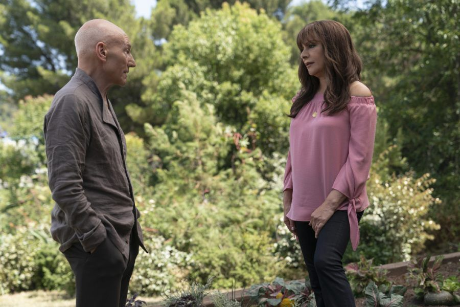 Picard reunites with Riker and Troi in Star Trek: Picard episode 7 photos 19