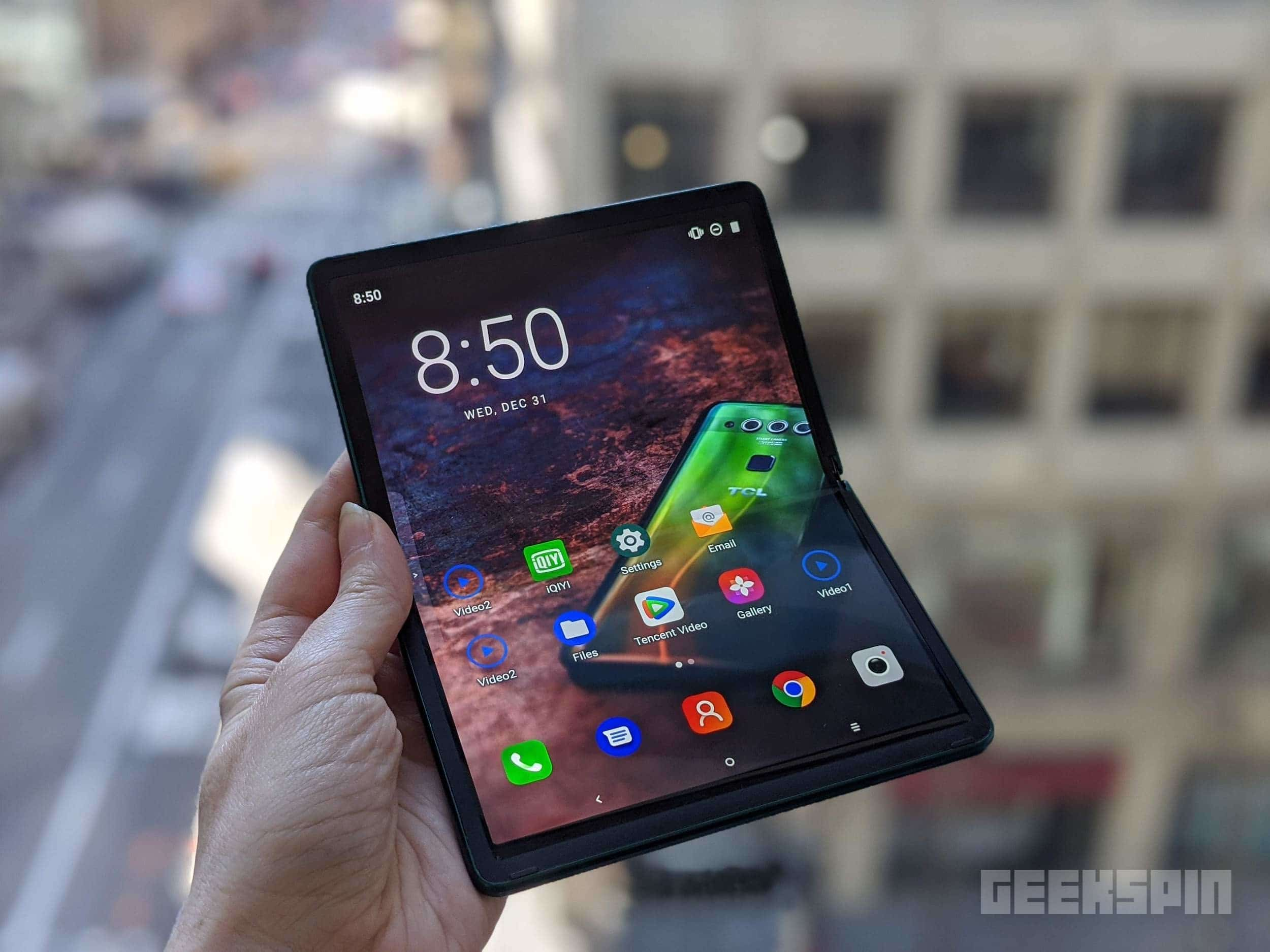TCL's rollable smartphone is the folding phone we all need right now 15