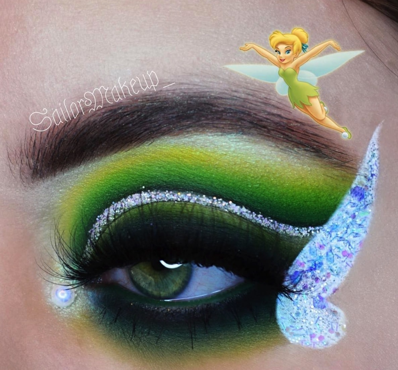Incredible Disney-inspired eye and lip makeup 29