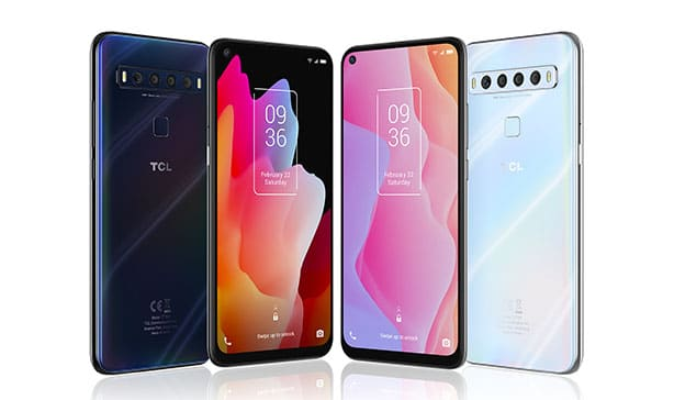 TCL debuts their first 5G and curved display phone 15