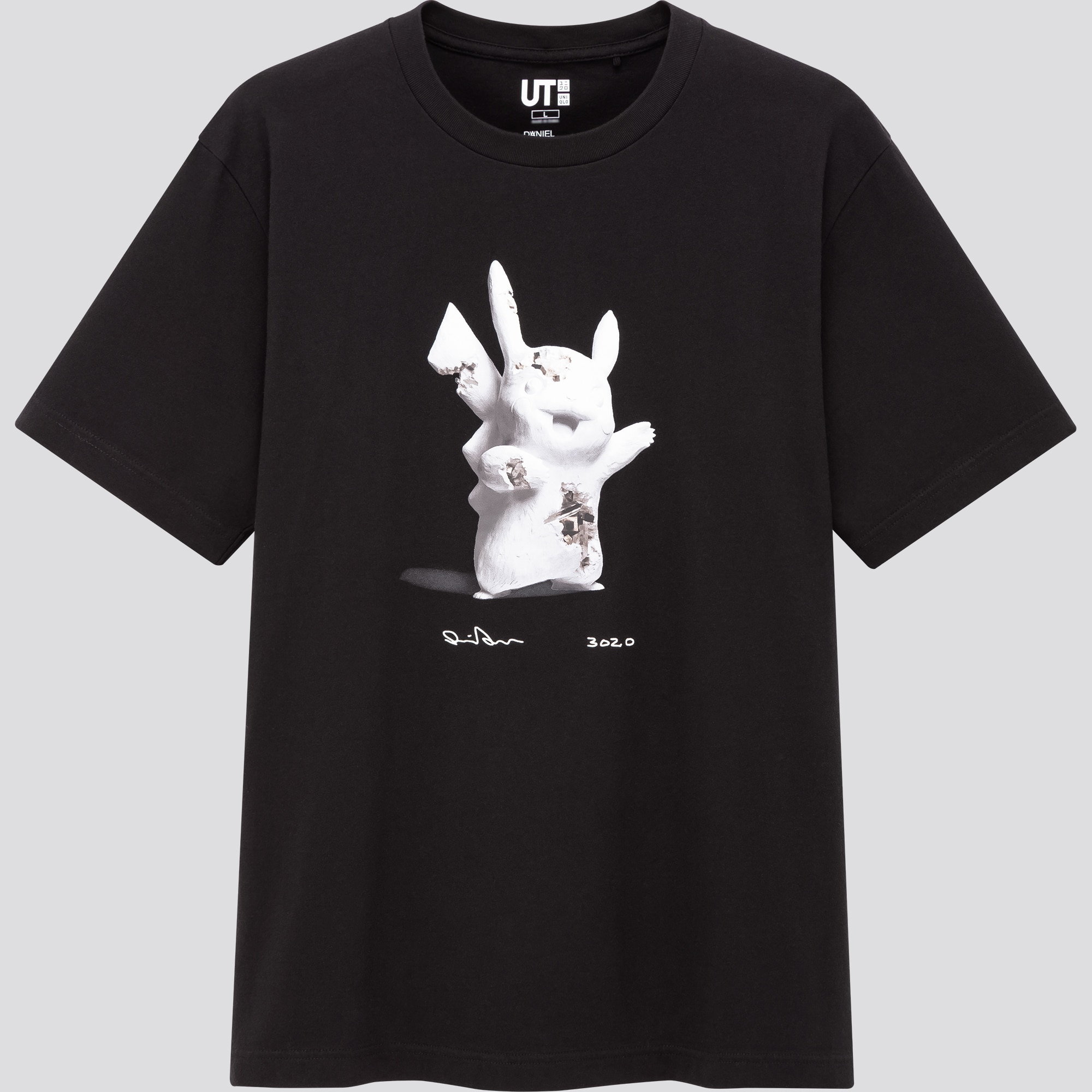 Uniqlo's Daniel Arsham x Pokémon t-shirts feature sketches of Pikachu, Mewtwo, & more 25