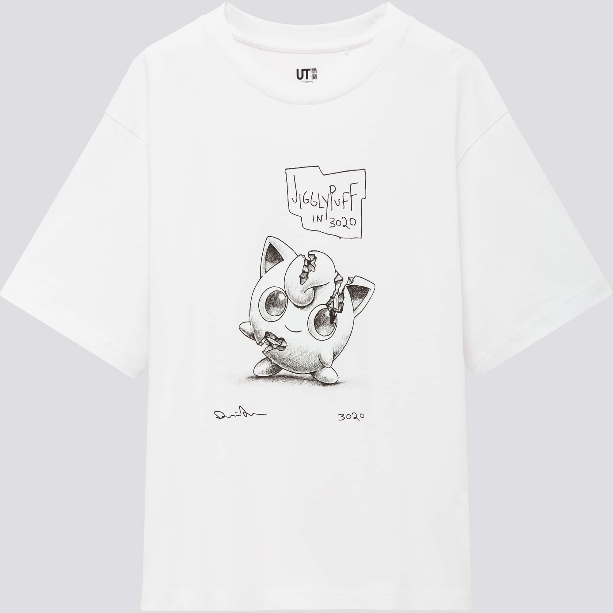 Uniqlo's Daniel Arsham x Pokémon t-shirts feature sketches of Pikachu, Mewtwo, & more 24