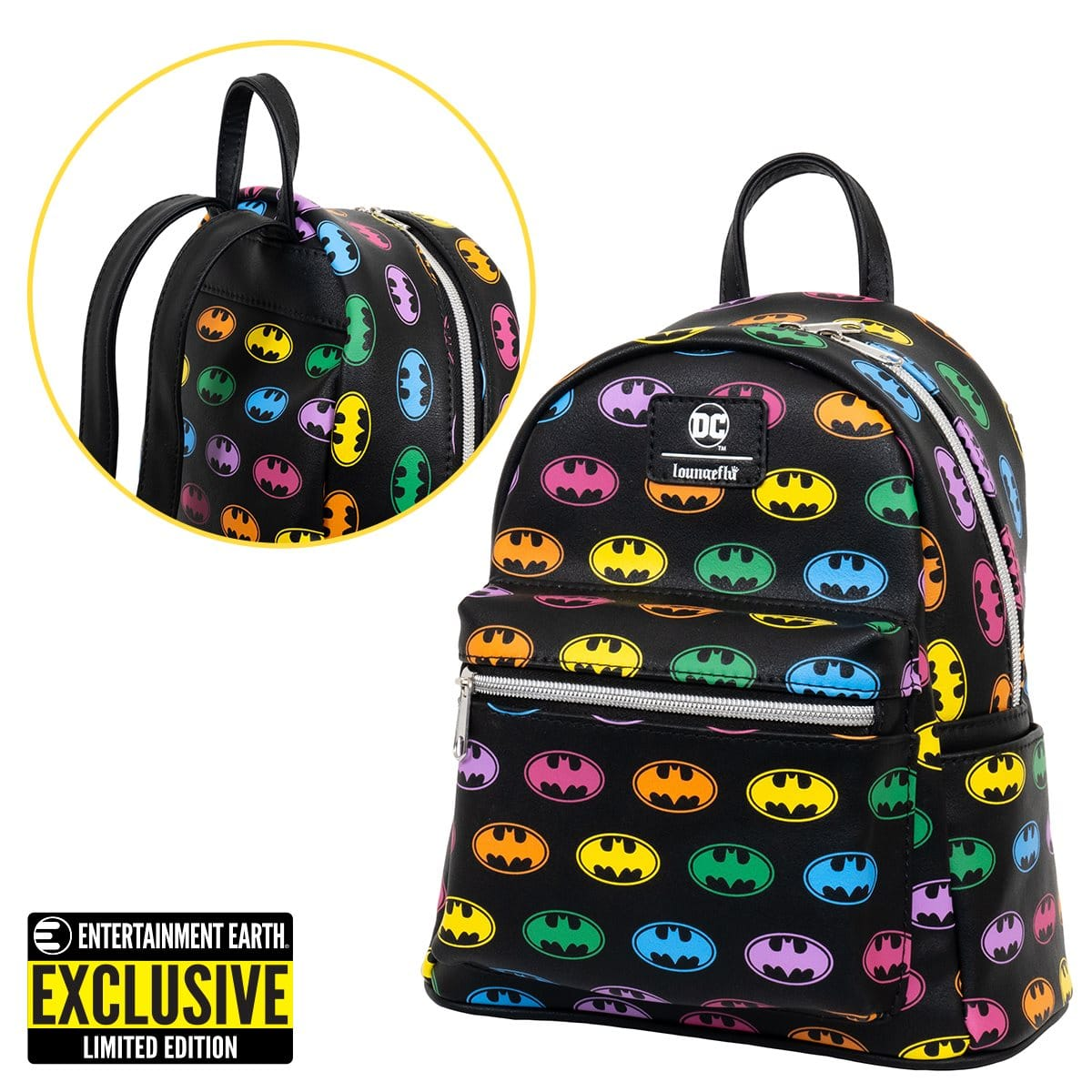 Funko's Rainbow Batman backpack and enamel pins are now available for pre-order 13