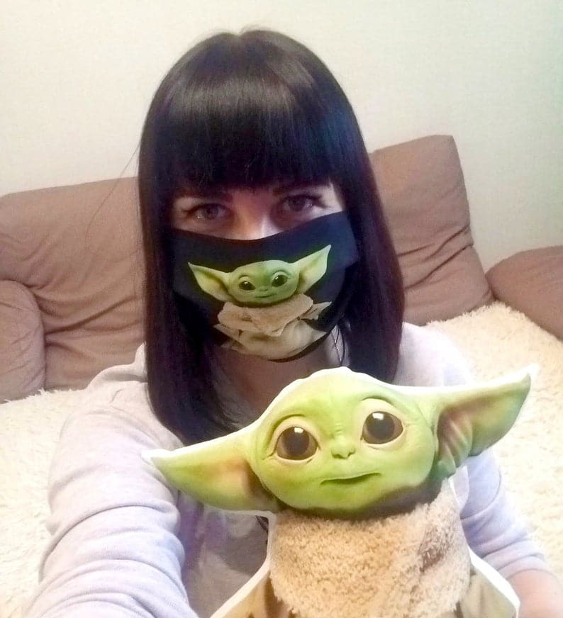 Baby Yoda face mask is totally the world's most adorable PPE 22