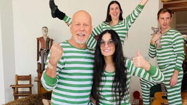 How did exes Bruce Willis and Demi Moore end up quarantining together? 18