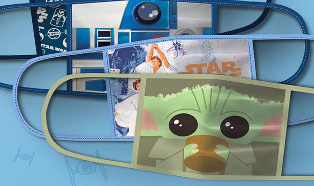 Disney releases Baby Yoda, Star Wars, Frozen and Marvel face masks 12