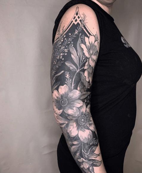 Extreme blackout tattoos 15