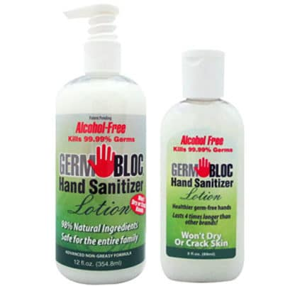 This in-stock hand sanitizer lasts 4 times longer than alcohol-based solutions 14