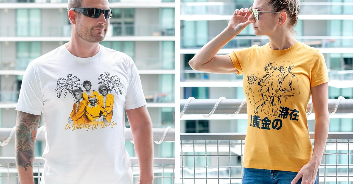 The Golden Girls t-shirt summer collection is off the charts 15