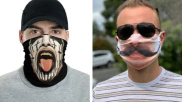 Hilarious face masks to wear during lock down and beyond 16