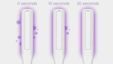 Get rid of bacteria with this UV Light Sanitizer wand that's currently 50% off 18