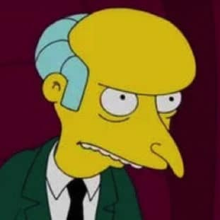 Mr. Burns 100