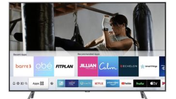 Samsung releases free fitness classes for their Smart TVs 17