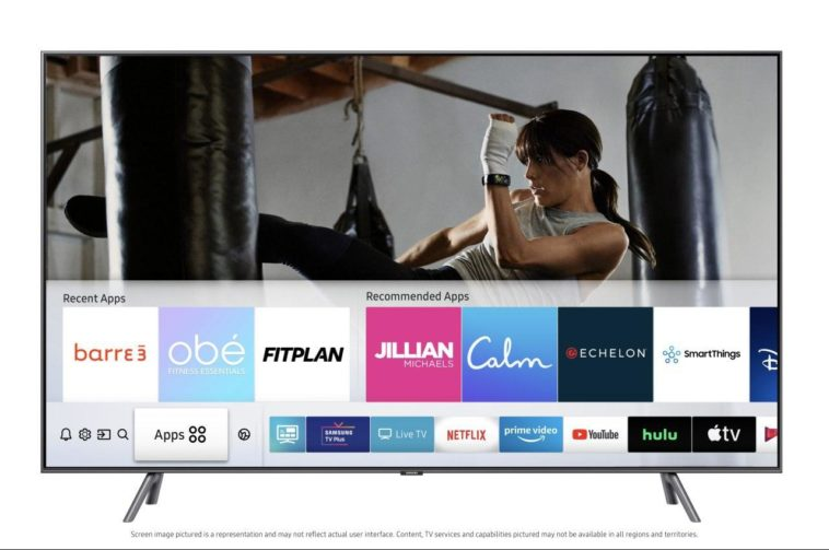 Samsung releases free fitness classes for their Smart TVs 20