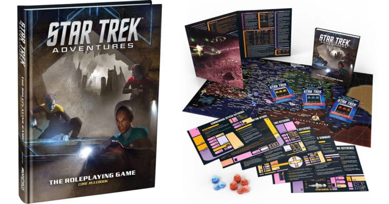 Star Trek Adventures tabletop RPG collections are now on sale on Bundle of Holding 14
