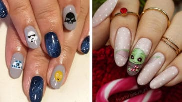 The Force is strong with these spectacular Star Wars nail art designs 14