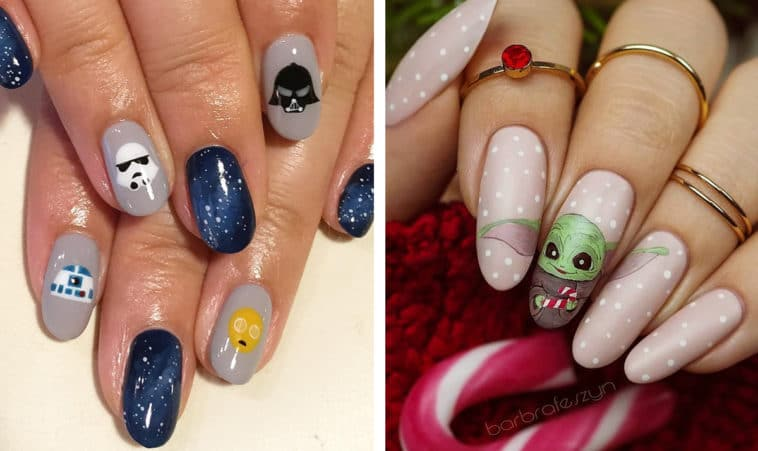 The Force is strong with these spectacular Star Wars nail art designs 13