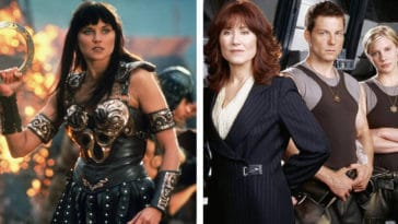 Xena and Battlestar Galactica marathons hosted by Lucy Lawless and Tricia Helfer to air on Syfy 14