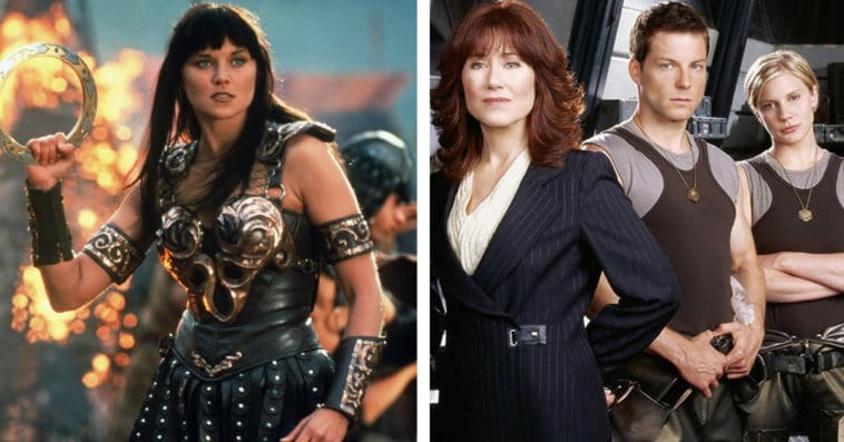 Xena and Battlestar Galactica marathons hosted by Lucy Lawless and Tricia Helfer to air on Syfy 20