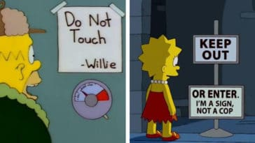 31 times The Simpsons made us ROFL with its hilarious signs 14
