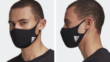 Adidas face masks are back in stock after selling out 25