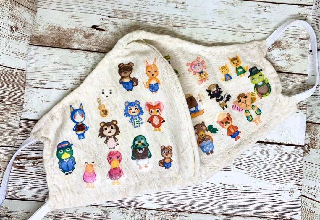 These Animal Crossing face masks aren't just for villagers 15