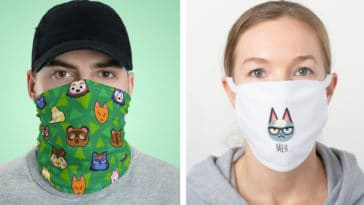 These Animal Crossing face masks aren't just for villagers 19
