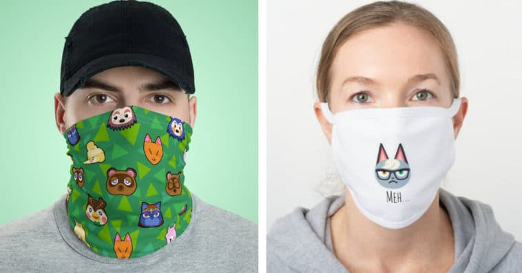 These Animal Crossing face masks aren't just for villagers 13