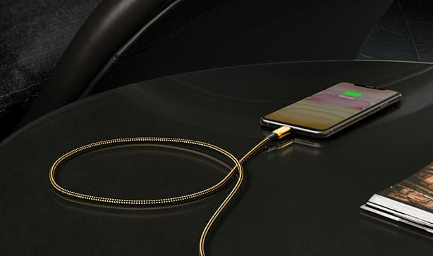 Anker's 24K gold-plated lightning to USB-C cable is Bad and Boujee 14