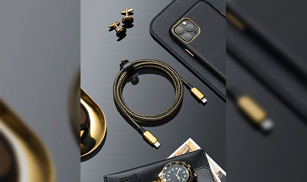 Anker's 24K gold-plated lightning to USB-C cable is Bad and Boujee 15
