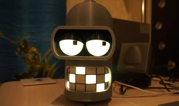 Bender from Futurama has been transformed into a rude smart speaker 13