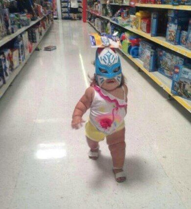 People who went grocery shopping in ridiculous outfits 15