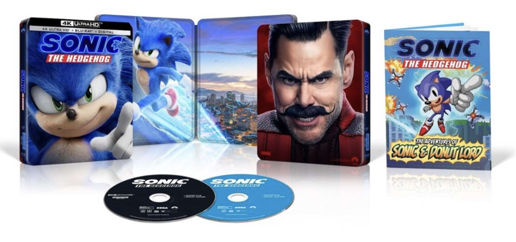 Sonic the Hedgehog is now available for purchase on Blu-ray, DVD, and 4K Ultra HD 15
