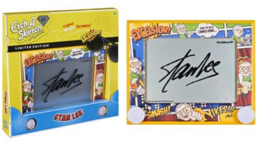 Etch A Sketch Stan Lee Edition inspires artists to create their own comic book superheroes 10
