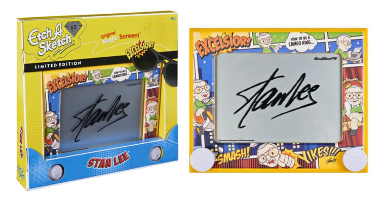 Etch A Sketch Stan Lee Edition inspires artists to create their own comic book superheroes 11