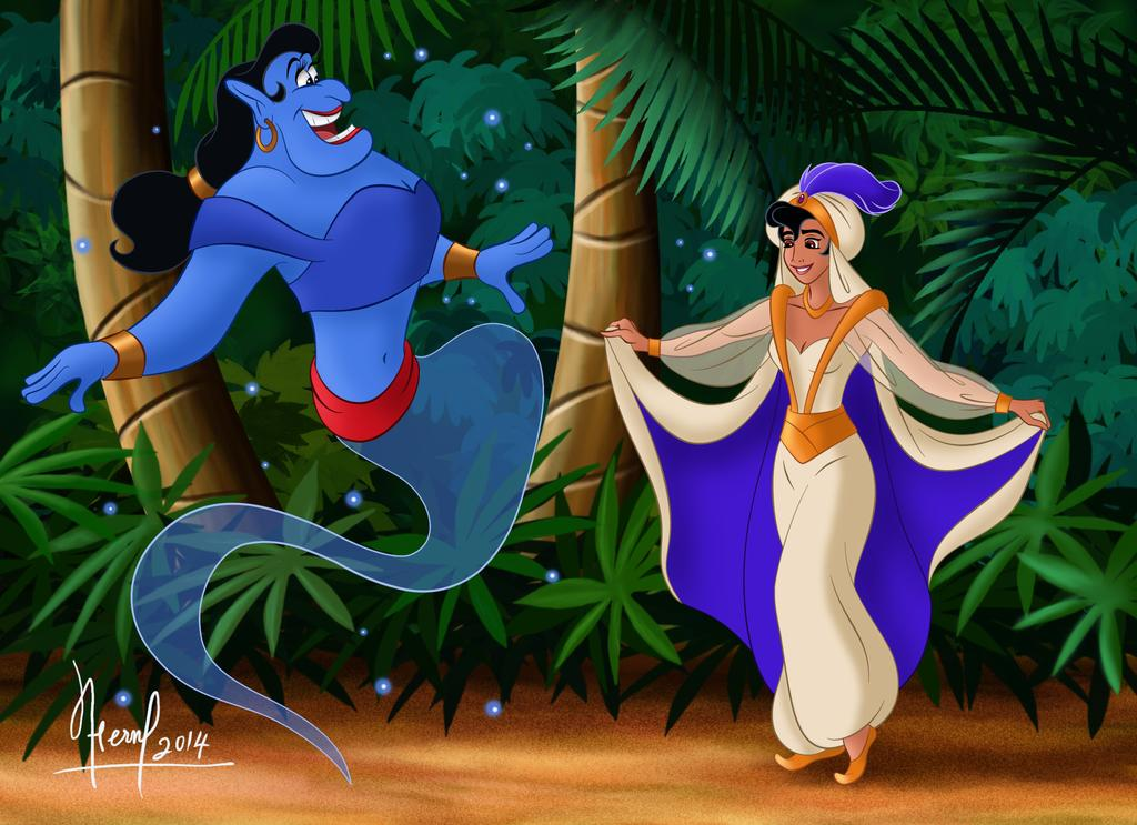 Disney characters reimagined as the opposite gender 12