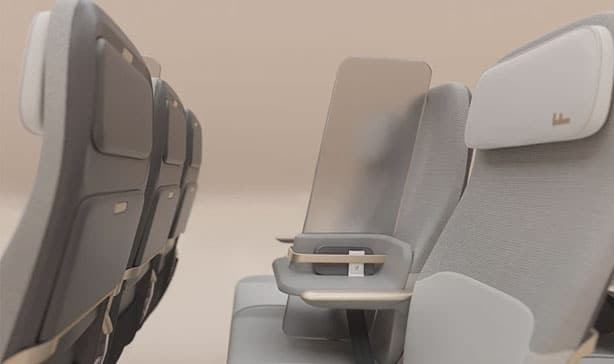 Airplane middle seats are being redesigned for Coronavirus 21