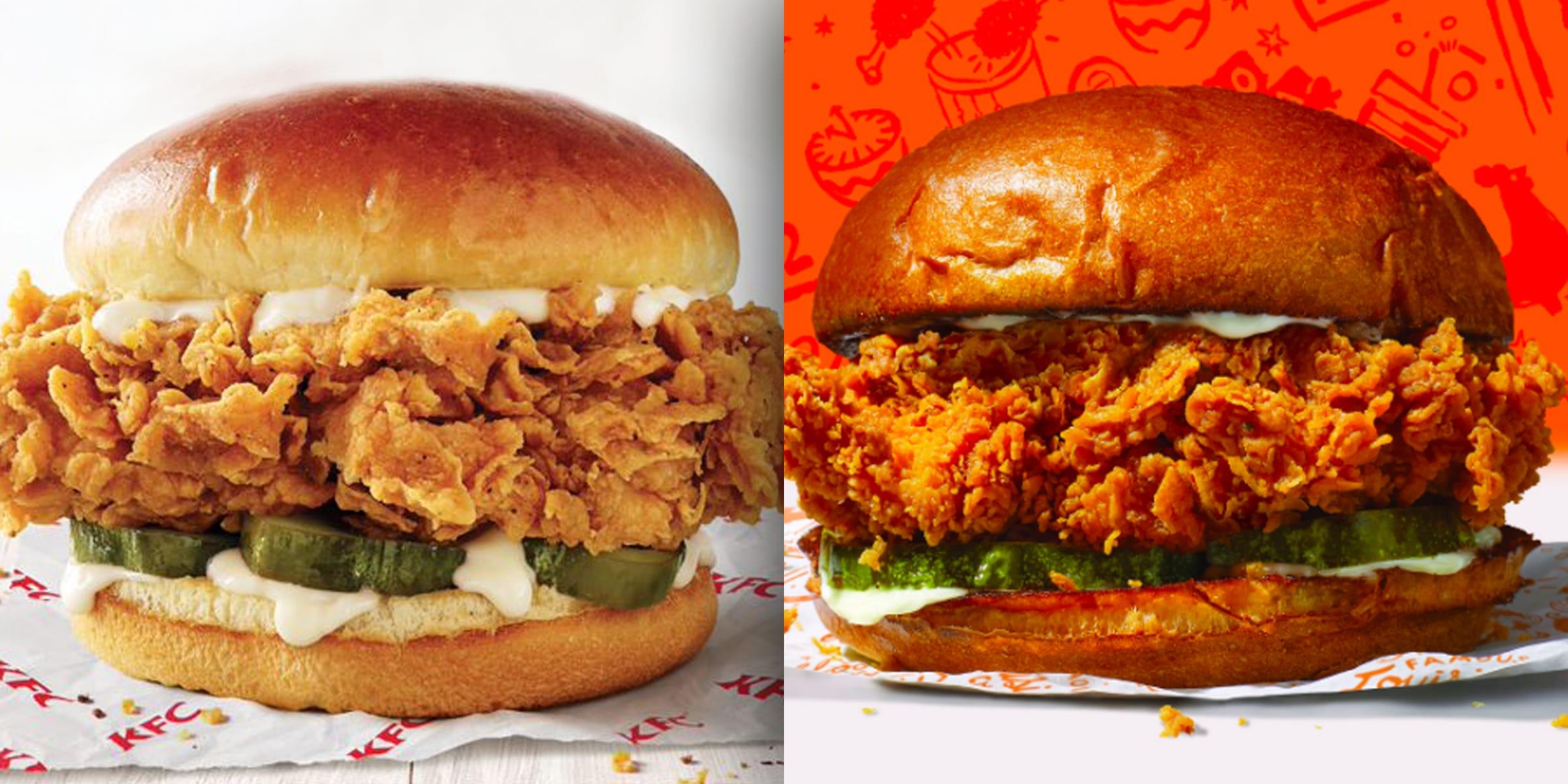 KFC is testing a chicken sandwich that's a lot like Popeyes' 14