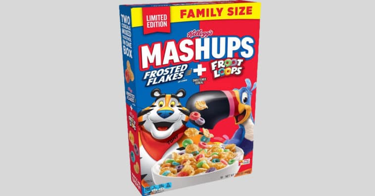 Kellogg's mixes Frosted Flakes and Froot Loops together so you can have both at the same time 16