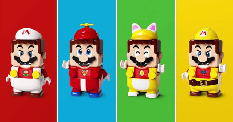 LEGO Super Mario Power-Up Packs let you dress up Mario in different outfits 14