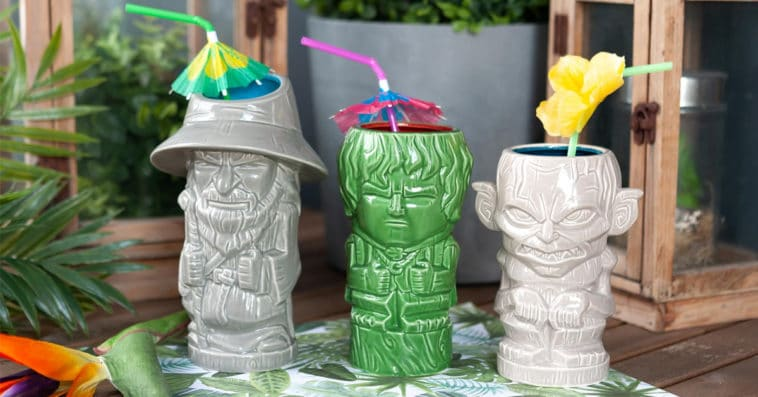 Lord of the Rings Geeki Tikis collection includes Gandalf, Frodo and Gollum mugs 14