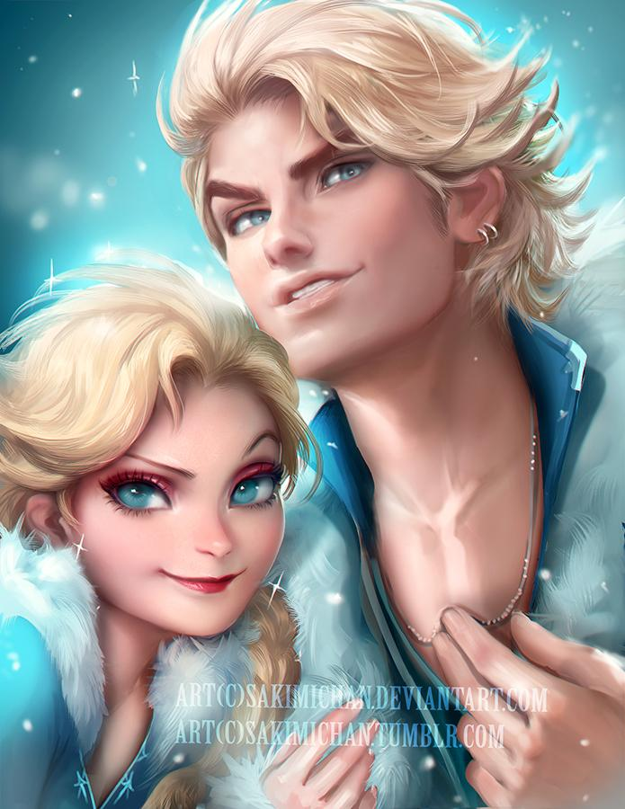 Disney characters reimagined as the opposite gender 15